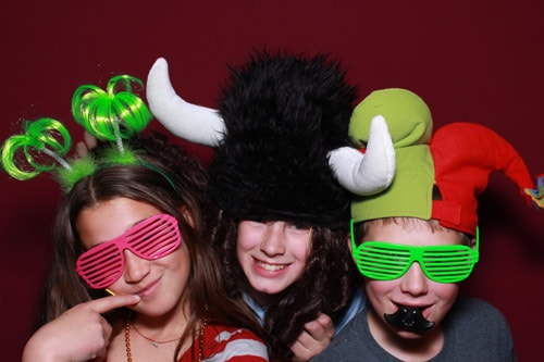 golden-photo-booth-fundraiser