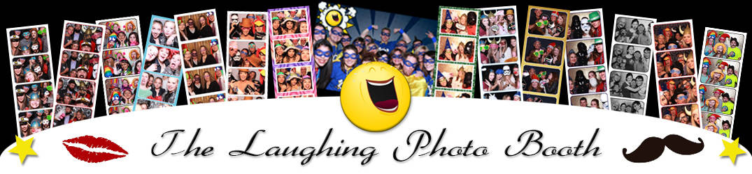 The Laughing Photo Booth Logo
